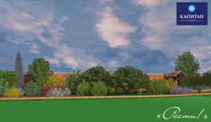 Ландшафтный дизайн - визуализация проекта участка, Москва, Московская, Тульская. Калужская область